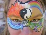 four elements face paint
