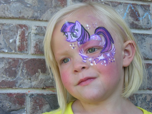 My Little Pony Face Paint