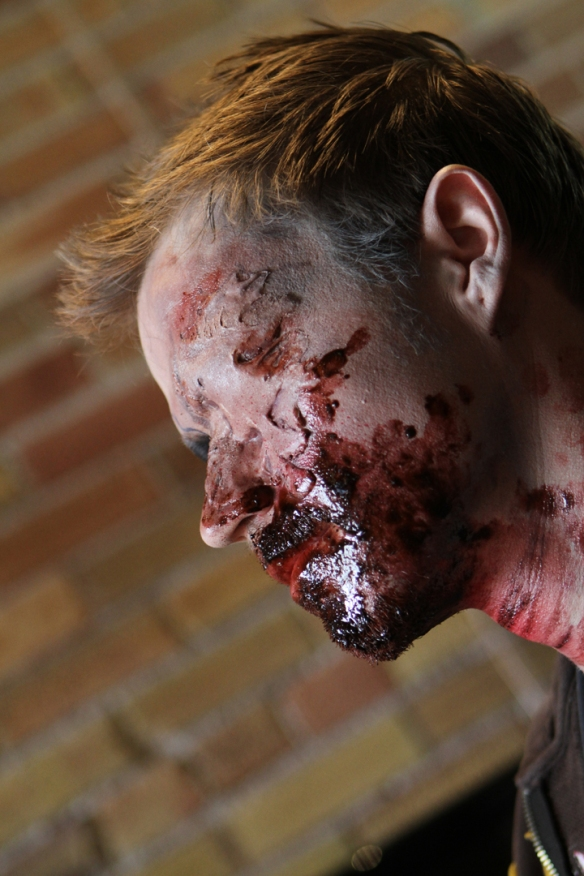 special effects zombie makeup